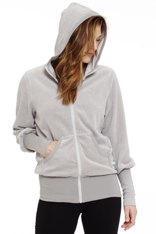 Sobea Velour yogajacket - Grey