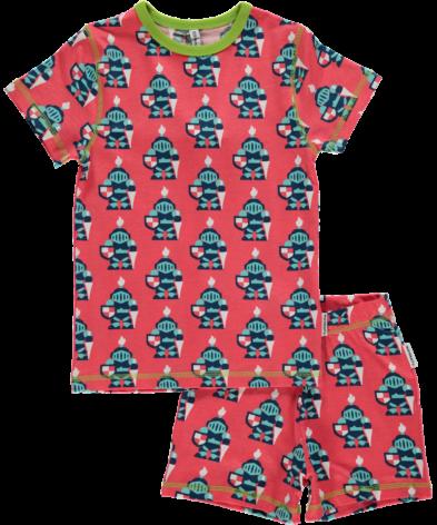 Maxomorra Pyjamas Set SS Knight