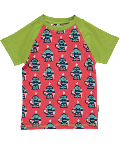 Maxomorra Top Raglan SS Knight