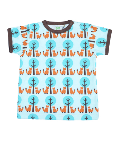 Sture & Lisa T-shirt Fox/Tree