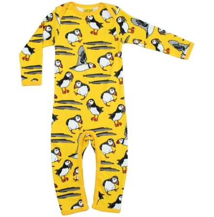 Duns Pyjamas Puffin Yellow