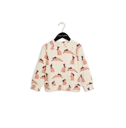 Mini Rodini Bunny LS Tee Pink