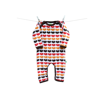Sture & Lisa Pyjamas Hearts