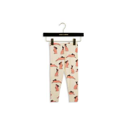 Mini Rodini Bunny Leggings Pink