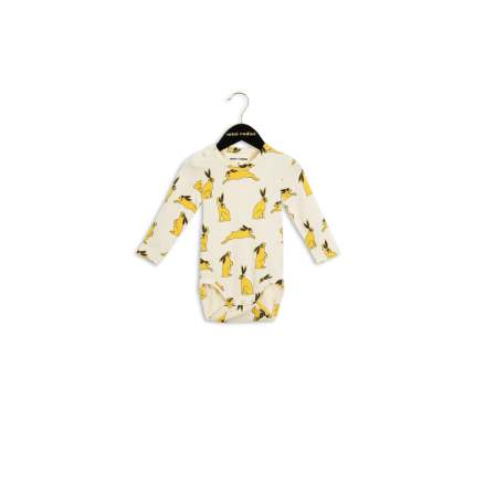 Mini Rodini Bunny LS Body Yellow