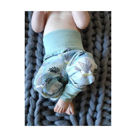 Modeerska Huset Baby Leggings Peace Please