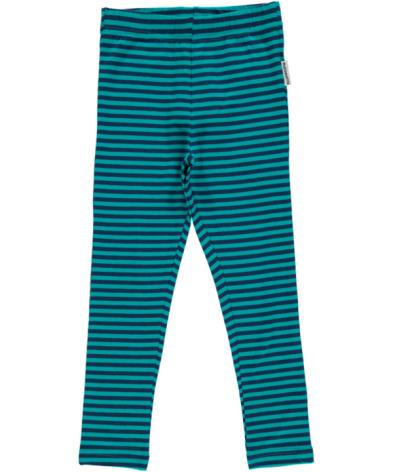 Maxomorra Leggings Dark Blue/Turquoise