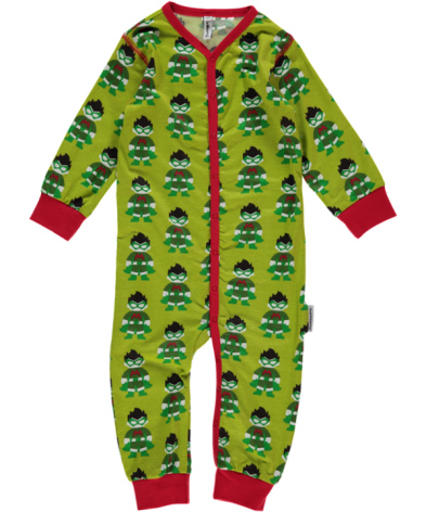 Maxomorra Pyjamas LS Superhero