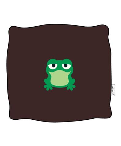 Maxomorra Kuddfodral Embroid Frog