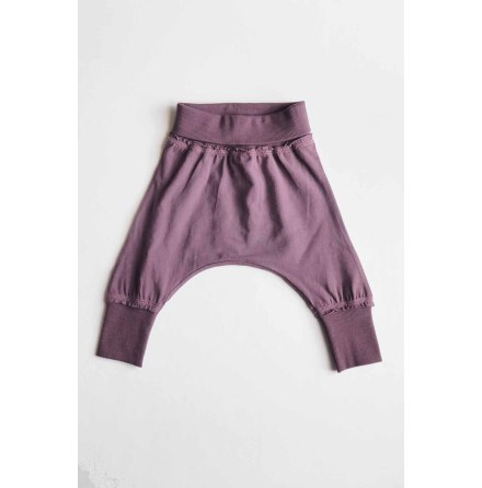 By Heritage Agaton Trousers solid plum
