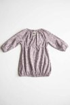 By Heritage Magda Dress print plum