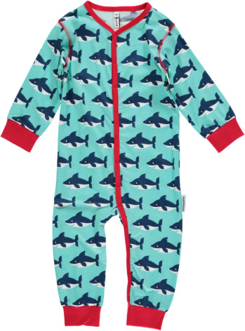 Maxomorra Pyjamas LS Shark