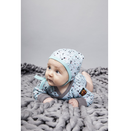 Modeerska Huset Baby Mössa Eggshell/Barley Field