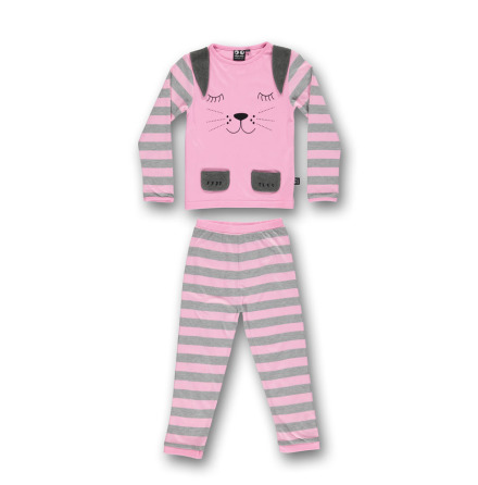 UBANG Rabbit Pyjamas LS Sleepy Pink