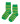 Maxomorra Socks Green/Bright Green 2-pack