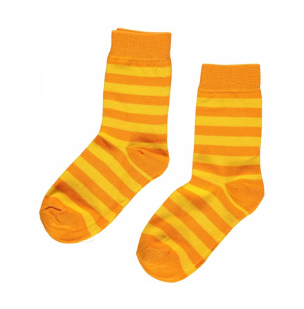 Maxomorra Socks Yellow/Orange 2-pack