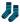 Maxomorra Socks Dark Blue/Turquoise 2-pack