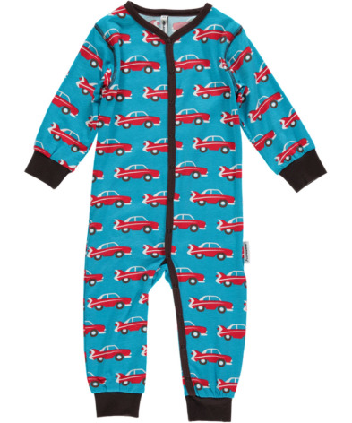 Maxomorra Pyjamas LS Car