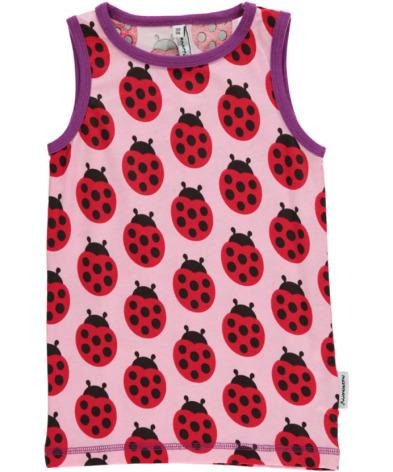 Maxomorra Tank Top Ladybug