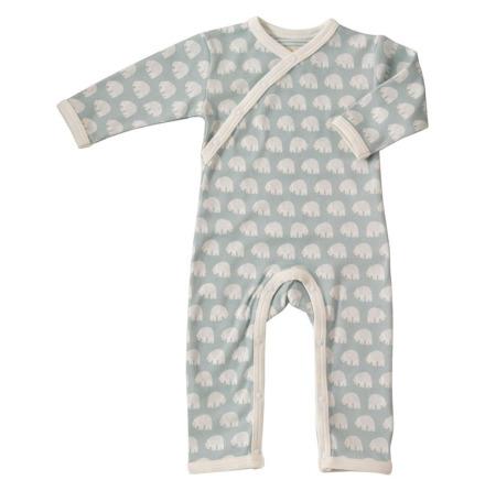 Pigeon Organics Pyjamas Bear Blue