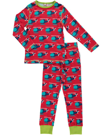 Maxomorra Pyjamas Set LS Chopper