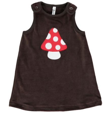 Maxomorra Dress Embroid Mushroom