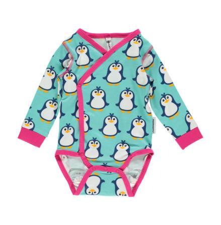 Maxomorra Body Wrap LS Penguin