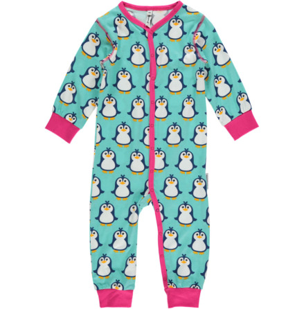 Maxomorra Pyjamas LS Penguin