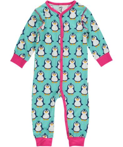 Maxomorra Pyjamas LS Penguin