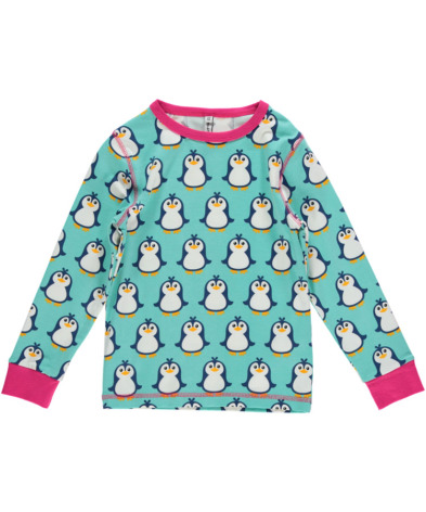 Maxomorra Top LS Penguin