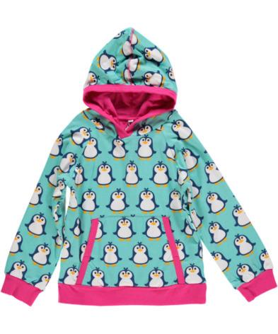 Maxomorra Hoodie Penguin